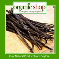 "20 Bourbon Vanilla beans/Pods Grade B - Extract Quality 4""- 5"" inchers"