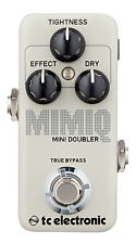 New TC Electronic Mimiq Mini Doubler Guitar Effects Pedal!