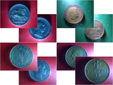 4 ANTICHE MONETE ITALIANE ORIGINALI (Regno d'Italia e Regno di Napoli)