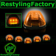 04-15 Toyota Tundra Double CrewMax 5x Cab Roof AMBER LED Lights AMBER Lens truck
