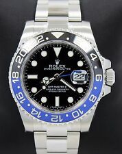 Rolex GMT-MASTER II 116710 BLNR Batman SS Black & Blue Ceramic Bezel *BRAND NEW*