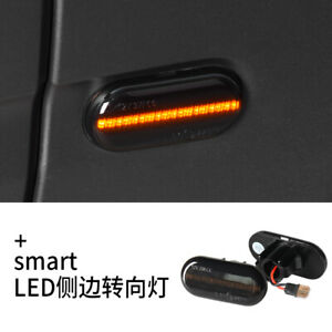 2 Dynamic Sequential LED Side Marker signal Light For Mercedes Smart Fortwo W453