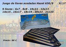 Juego de 9 llaves acodadas HAZET  630 SPC/9