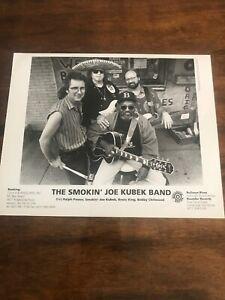 Vintage Smokin' Joe Kubek Band Press Promotional Photo 8x10 Bullseye