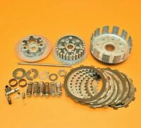 84-85 1985 CR250 CR 250 Clutch Primary Driven Inner Hub Basket Pressure Plate