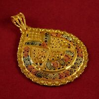 Indian Bollywood Designer Women 18K Necklace Pendant Traditional Fashion Jewelry