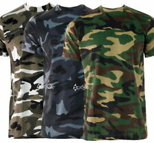 Camouflage Cotton Sleeveless T-Shirts Graphic for Men