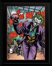 DC Comics Joker Teeth Superheroes Framed Poster Print Photo 40x30cm | 12x16 in