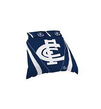 Carlton Blues DOUBLE Quilt Doona Duvet Cover Set AFL Football Footy
