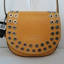 FRYE Cassidy Crossbody/Purse/Hand Bag/Tote - Yellow Brown DB413 NWT BEAUTIFUL!