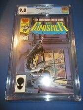 Punisher Limited Series #4 1st Solo Series CGC 9.8 NM/M gorgeous Gem Wow