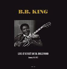 B.b. King Live at Sunset Sound Hollywood 1972 180gm Vinyl 2 LP New/