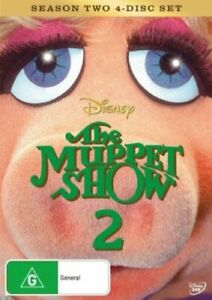 THE MUPPET SHOW (COMPLETE SEASON 2 - DVD SET SEALED + FREE POST)