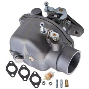 8N9510C-HD Carburetor & Bolts For Ford Tractor 2N 8N 9N With Gaskets