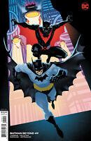 DC COMICS BATMAN BEYOND #49 COVER B FRANCIS MANAPUL VARIANT