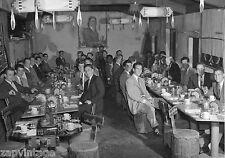 Vtg B&W 1920's - 1930's BETA PHI Frat Photo (Indian Trial Restaurant Dinner)