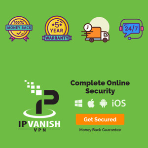 Premium IP Vanish VPN ✔ 5 years subcription ✔ Unlimited Devices ✔ Fast Delivery