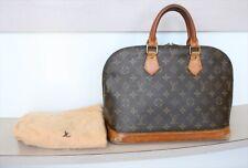 AUTHENTIC LOUIS VUITTON ALMA Monogram Handbag No.1070