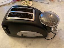 Back to Basics Egg & Muffin 2-Slice Toaster. Egg Poacher, & Warming Rack