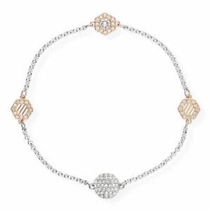 SWAROVSKI SALE 5371191 Armband Damen Remix Collection Silber-Rosé-Weiss