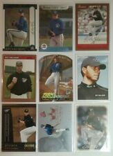 250 TORONTO BLUE JAYS CARDS WITH HALLADAY RC'S, 2 AUTOGRAPHED, 2 JERSEY CARDS