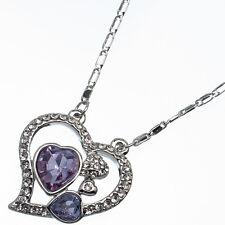 7.76ct Corte Corazón Estilo forma Amatista violeta Circonita Cúbica 18ct