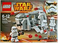 LEGO - STAR WARS - 75078 Imperial Troop Transport  - New