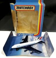 Matchbox Skybusters British Airways Negus SB-10 Boeing 747-100 model air plane