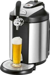 CLATRONIC BZ 3740 Bierzapfanlage 5-Liter-Partyfässer CO2 Kühlung Heineken-Adapte