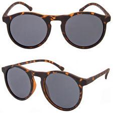 Retro Round Lennon Celebrity DESIGNER Frame Vintage Remade Sunglasses 60s Unisex Matte Tortoise