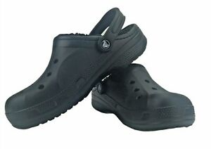 Crocs Men's and Women's casual stylish comfy cozy Ralen Lined clogs size M9 /W11