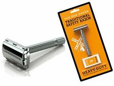 Van Der Hagen Traditional Safety Razor Set includes 5 Blades