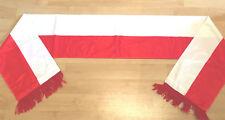 Schweiz Seidenschal Fanschal Schal Fussball Football scarf ROT WEISS