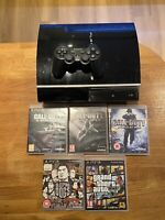 Sony PS3 Playstation 3 FAT CONSOLE Plus 5 Games