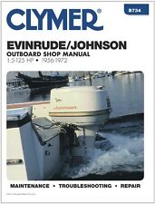 CLYMER JOHNSON EVINRUDE OUTBOARD MOTOR  9.5 HP REPAIR SHOP SERVICE MANUAL 56-72