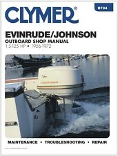 CLYMER JOHNSON EVINRUDE 60 HP OUTBOARD MOTOR SERVICE REPAIR SHOP MANUAL 56-72