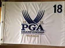 2014 PGA CHAMPIONSHIP GOLF PIN FLAG RORY McILROY Valhalla Embroidered