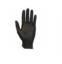 NEW Black Nitrile Gloves 6 Mil Powder-Free Size: Large 100 Pieces box
