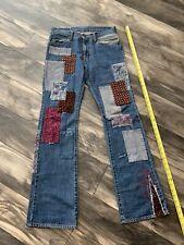 Hysteric Glamour Kurt Cobain Patchwork Kinky Nirvana Denim Jeans Pants Supreme