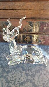 "Swarovski Crystal 1994 Annual Edition ""Kudu"". Large"
