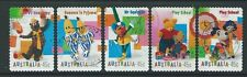 AUSTRALIA 1999 CHILDRENS TELEVISION PROGRAMMES SELF ADHESIVE FINE USED