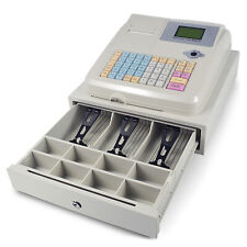 Electronic Pos System Cash Register 48 Keys 8digital Led Display Retail Withdrawer
