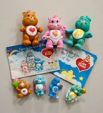 Lot of Vintage Care Bears Figures Poseable and Mini size