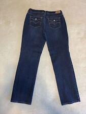 Levi's 505 Dark Blue Straight Leg Jeans 12M  Burton Back Pockets 31X32👖6N