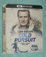 COLD PURSUIT, THE COMMUTER  4K Blu ray slipcover