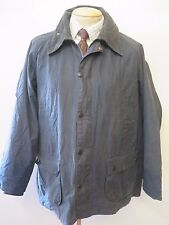 "Vintage A105 Barbour Bedale Waxed jacket - L 44"" Euro 54 in Blue"