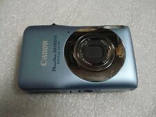 Very Nice Canon PowerShot SD1300 IXUS 105 12MP Digital Camera Blue