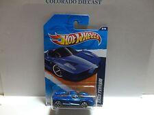 2011 Hot Wheels #116 Blue Enzo Ferrari w/PR5 SPoke Wheels