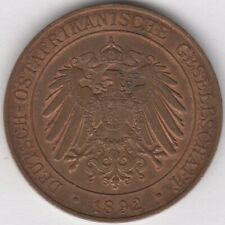 More details for 1892 german east africa pesa coin | pennies2pounds