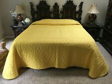 New ListingVintage King Size Custom Made Bedspread Vintage 70s